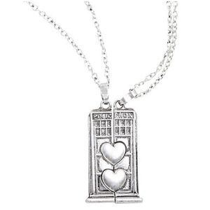 🔥Last One🔥 Doctor Who: Heart Box Necklace Set